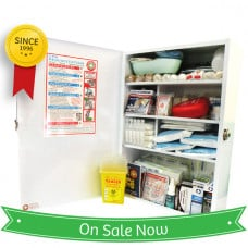 K1005 Wall-mount Food Industry Compliant First Aid Kit