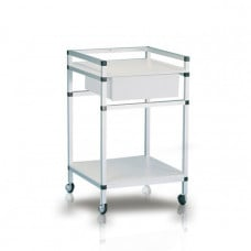 Instrument Trolley Single Draw 50cm x 50cm